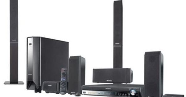 Panasonic Sc Pt1050 5 1 Channel Surround Sound Home Theater System Home Theater System Home Theater Panasonic