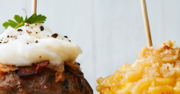 Anything in a muffin pan is better! Mac n' Cheese & Meatloaf