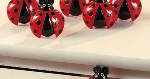 Ladybug Kitchen Collection The Lakeside Collection Set