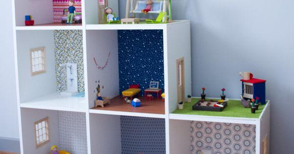 diy faire une maison de poup e soit m me facilement a faire pinterest ikea hack. Black Bedroom Furniture Sets. Home Design Ideas