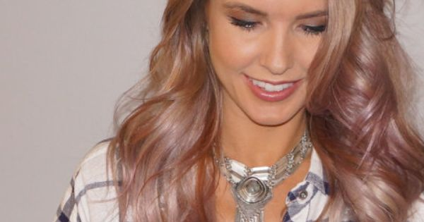 It Took Eight Hours For Audrina Patridge's Hair To Be ...