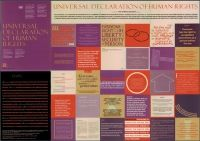 Laminated Poster Universal Declaration Of Human Rights Declaration Of Human Rights Human Security Human Rights