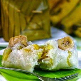 Bongko Pisang Nangka Resep Kue Pisang Masakan Indonesia