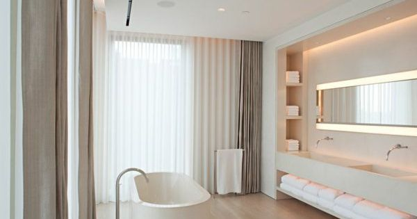 moderne badezimmer fenster sichtschutz moderne vorh nge villa curtans pinterest moderne. Black Bedroom Furniture Sets. Home Design Ideas