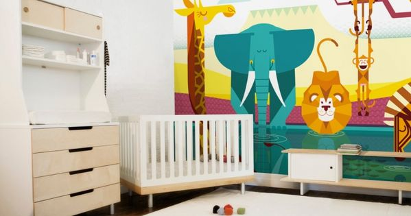 fresque murale papier peint enfants th me chambre b b. Black Bedroom Furniture Sets. Home Design Ideas
