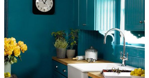 Cuisine bleu canard id es d coration cuisine bleue for Cuisine bleu et vert