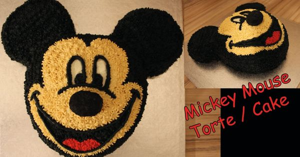 mickey mouse torte cake 3d selber machen anleitung micky maus wunderhaus kuchen pinterest. Black Bedroom Furniture Sets. Home Design Ideas
