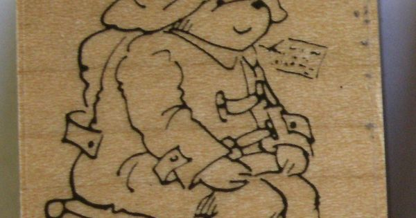 michael bond paddington bear rubber stamp kidstamps illustrator rubber stamps pinterest. Black Bedroom Furniture Sets. Home Design Ideas