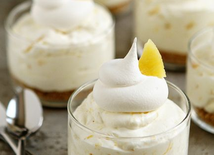 PINEAPPLE No Bake Cheesecake: Recipe for the Crust: 3/4 cup graham cracker
