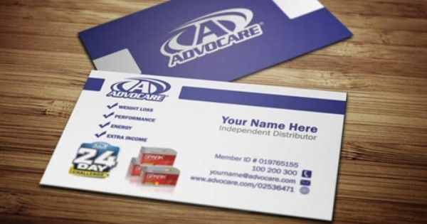 Advocare Business Cards Free Shipping Tank Prints Network Marketing Business Card Marketing Business Card Doterra Business Cards Template
