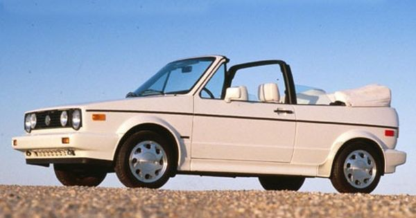 Used 1992 Volkswagen Cabriolet Convertible For Sale On Edmunds Com Cabriolets Vw Cabriolet Volkswagen