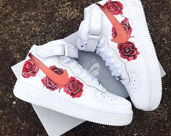 Nike air force 1 custom | Etsy FR | Nike air shoes, Nike shoes ...
