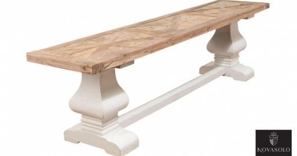 Tøft og rustikt Avignon spisebord i en stilig