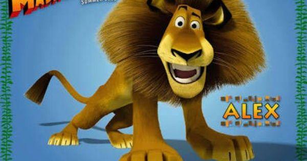 Leao Lion Alex Personagem Do Filme Madagascar Cartaz