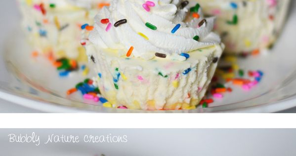 Cake Batter Ice Cream Cupcakes!
