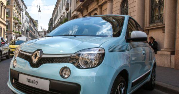 Nuovatwingo Nella Tinta Blu Shopping Style Citycar Renault