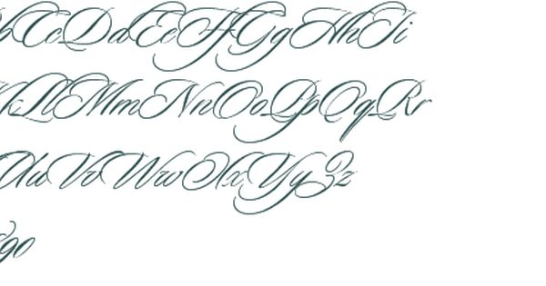 Sloop script font preview 30678 inspiration for Flowy tattoo fonts