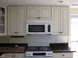 how to install a vented microwave oven