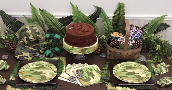 Pin By Sid Arie Lopez On Grandpa S Retirement Party Camo Supplies Birthday