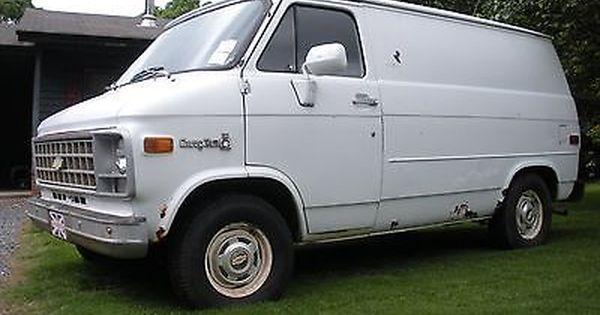 1981 Chevrolet G20 Van G10 Chevy Van Chevrolet Van Van