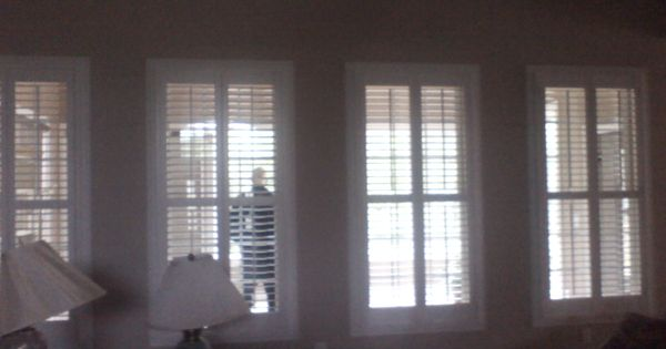 customer wanted interior shutters throughout entire