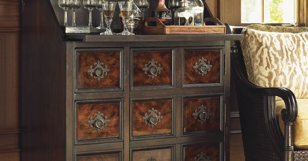 Tommy bahama home island traditions churchill bar cabinet for British traditions kitchen cabinets