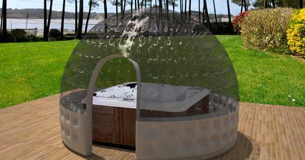 Abri jacuzzi spa image jpeg 600 450 pixels jardin pinterest spas - Abri jardin reglementation nantes ...