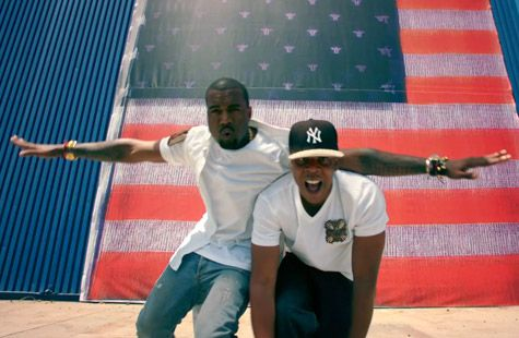 Loving Watch The Throne Right Now Jay Z Kanye West Kanye West Otis