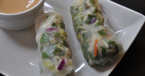 ... | Spring Rolls, Vegetable Spring Rolls and Fresh Spring Rolls