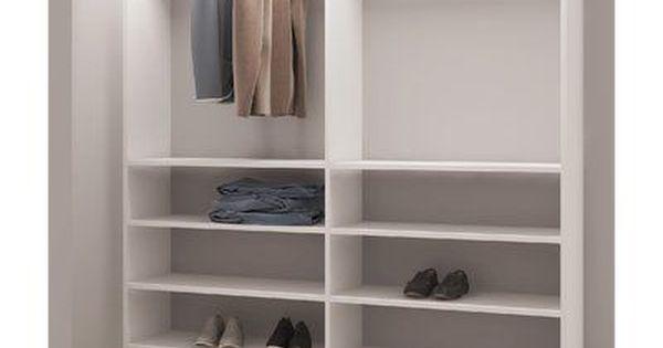 Rebrilliant Zachary Closet System Closet System Closet