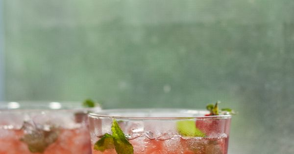 Strawberry-Infused Bourbon | Recipe | Mint, Bourbon and Strawberries