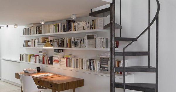 Duplex paris escalier en colima on en m tal par escaliers d cors - Escalier colimacon petit diametre ...