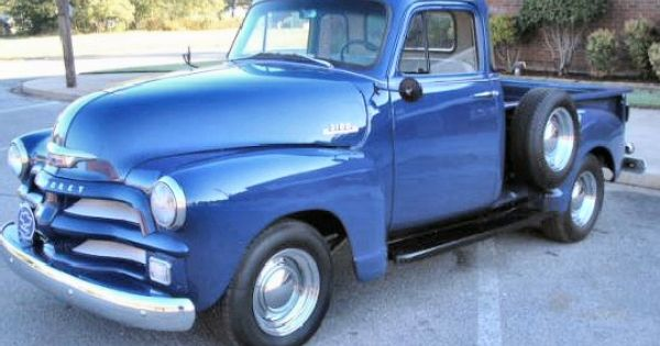 A Beautiful 1954 Chevy 3100 5 Window Pickup Chevy 3100 1954 Chevy Truck Chevrolet