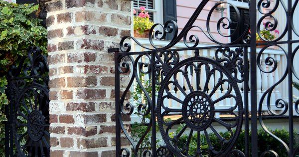 Wrought Iron Gate Charleston, SC