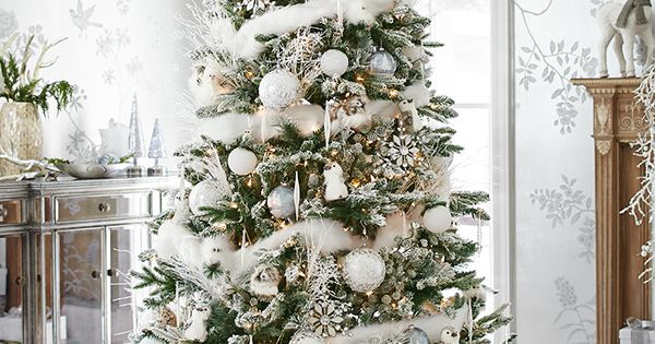 An indoor winter wonderland awaits you with pier 1 s - Decorations exterieures de noel ...