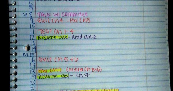 ChemGradBoom: Making a College Syllabus 'Cheat Sheet'