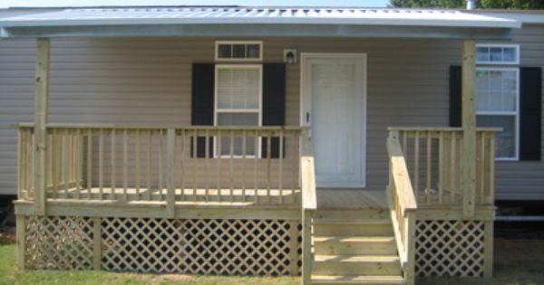 297 best mobile home porches images on pinterest | porch ideas