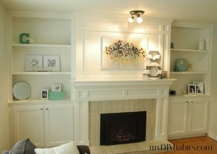 Our Transformed Fireplace Before After Fireplace Diy