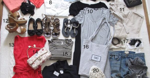 Summer Holiday: packing tips for summer vacation