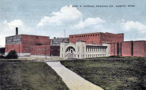 George A Hormel Packing Company Austin Minnesota 1916