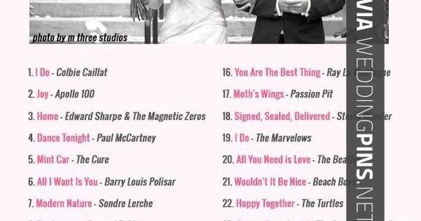 Wedding Reception Songs 2015