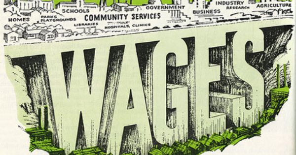 The Pragmatist Wages In A Resource Based Economy Wage Minimum Wage Us Tax