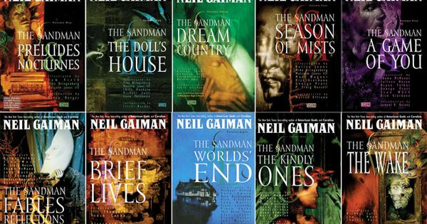 1000 Ideas About Neil Gaiman On Pinterest: The Sandman Graphic Novel Series By Neil Gaiman