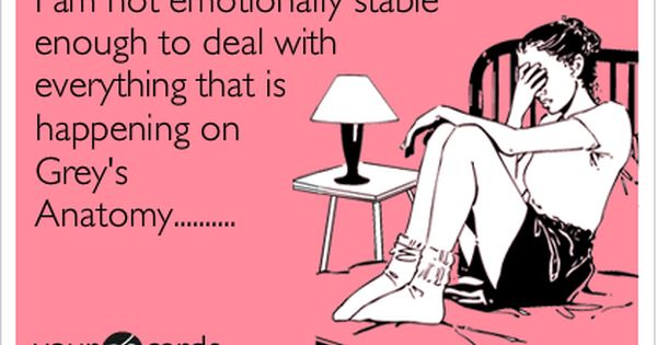 Bahaha! I am not emotionally stable enough to deal with everything that