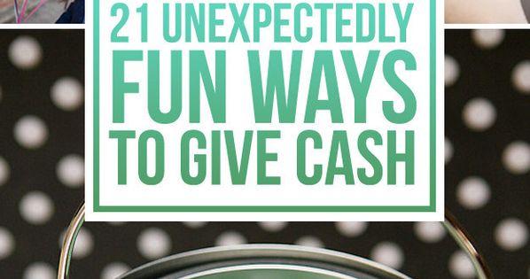 Giving Cash As A Wedding Gift: 21 Surprisingly Fun Ways To Give Cash As A Gift