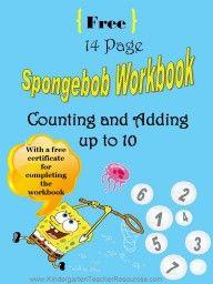 Spongebob Math Worksheets Kindergarten Teacher Resources Math Worksheets Learn Basic Math Math