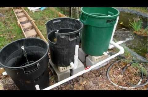 Cheap Diy Bio Pond Filter That Works Youtube Pond Sweet Pond Pinterest Pond Filters