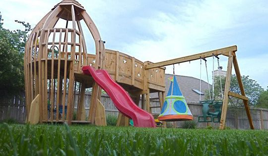 A Dad-Built Backyard Rocketship My Great Outdoors | Apartment Therapy