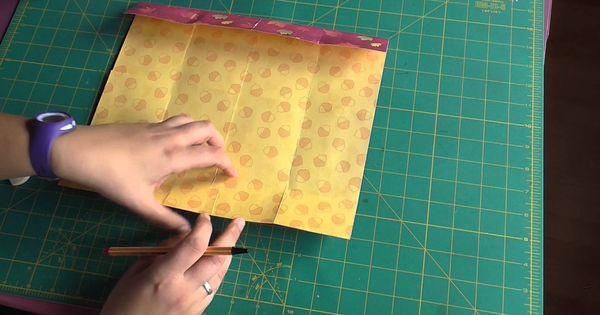 Tutorial scrapbooking c mo hacer un mini lbum con una - Como hacer un album scrapbook ...