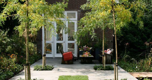 Achtertuin ontwerp inspiratie strakke tuin garden ontwerp design ruud vermeer - Tuin ontwerp exterieur ontwerp ...